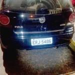 Veículo Polo clonado_traseira