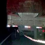 Acidente entre dois caminhões na BR 277 no km 197__1