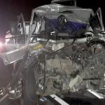 Acidente entre dois caminhões na BR 277 no km 197__4