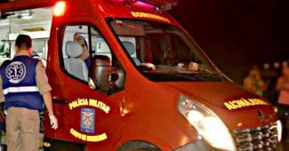 Ambulância Bombeiros_ atendimento noturno