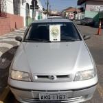 Veículo Siena clonado é apreendido pela PM em Palmeira_1