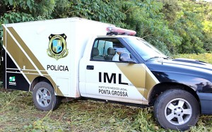 Viatura do IML de Ponta Grossa_ Foto RS Polícia