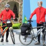 Dois ciclistas de Palmeira refazem o Caminho da Fé até Aparecida do Norte_foto Elder Scolimoski_Rádio Ipiranga (1)