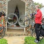 Dois ciclistas de Palmeira refazem o Caminho da Fé até Aparecida do Norte_foto Elder Scolimoski_Rádio Ipiranga (4)