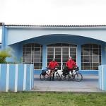 Dois ciclistas de Palmeira refazem o Caminho da Fé até Aparecida do Norte_foto Elder Scolimoski_Rádio Ipiranga (6)