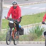 Dois ciclistas de Palmeira refazem o Caminho da Fé até Aparecida do Norte_foto Elder Scolimoski_Rádio Ipiranga (7)