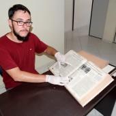 Professor usa a Gazeta de Palmeira como apoio para mestrado sobre a Colônia Cecília_2