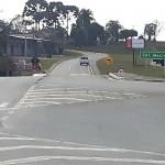 Rotatória e marginal na BR 277 em Colônia Maciel_2