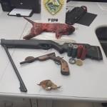 Arma e objetos apreendidos_2