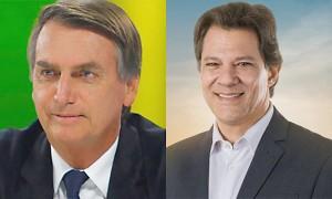 Bolsonaro e Hadad_detaque site