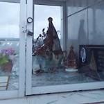 Fotos do vansalismo no Cemitério São João do Tiunfo 2
