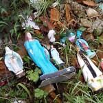Fotos do vansalismo no Cemitério São João do Tiunfo 3