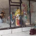 Fotos do vansalismo no Cemitério São João do Tiunfo 4