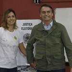 Jair Bolsonaro e esposa foto de  Tânia Rego Agência Brasil