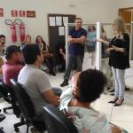 Palestra para mesários com a Juíza Cláudia Sanine Ponich Bosco_3_foto Riomar Bruno Ferreira