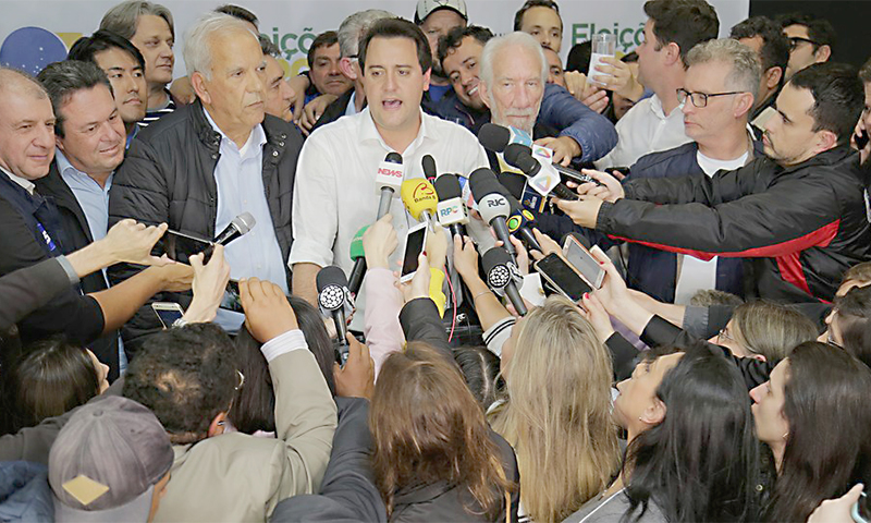 Ratinho Junior_governador eleito_Foto Giuliano Gomes PR PRESS