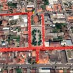 Ruas interditadas para o Encontro de Carros Clássicos Antigos Palmeira
