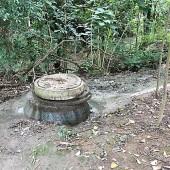 Vazamento em PV de rede coletora leva esgoto para o Rio Monjolo em  Palmeira