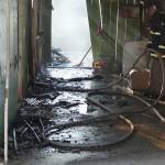 Incêndio em residência no Bairro Regina Vitória_foto Moacir Guchert_2