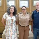 Maria Isabel Côrrea, Coronel Audilene Rocha e Ivan Zarpellon