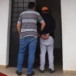 O suspeito está preso na Delegacia de Teixeira Soares