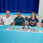 Premiação da Maratona Intelectual do Rotary_Fomação da mesa_Genezio_Geraldo_Carla e Lucimara_foto Moacir Guchert