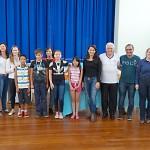 Premiação da Maratona Intelectual do Rotary_alunos_EM Gabriel Prestes_foto Moacir Guchert