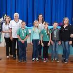 Premiação da Maratona Intelectual do Rotary_alunos_EM Leonor Santos_Faxinal dos Quartins_foto Moacir Guchert