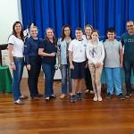 Premiação da Maratona Intelectual do Rotary_alunos_EM Nossa Senhora do Rosário_de Vieiras_foto Moacir Guchert