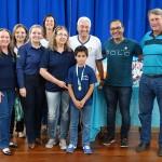 Premiação da Maratona Intelectual do Rotary_alunos_EM de Santa Bárbara de Cima_foto Moacir Guchert