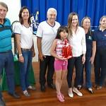 Premiação da Maratona Intelectual do Rotary_prêmio de quinto lugarKauane Berger Monegati EM Professor Gabriel Prestes_foto Moacir Guchert