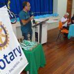 Premiação da Maratona Intelectual do Rotary_secretário Geraldo Neves_representando o prefeito_foto Moacir Guchert