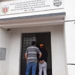 Suspeito está preso na Delegacia de Teixeira Soares_2