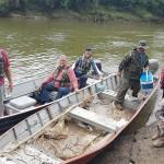 Ação de limpeza no Rio Iguaçu pelo Rotary Club de Palmeira e Iate Clube em comemoração ao Dia do Rio-foto divulgação (11)