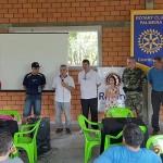 Ação de limpeza no Rio Iguaçu pelo Rotary Club de Palmeira e Iate Clube em comemoração ao Dia do Rio-foto divulgação (12)