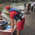 Ação de limpeza no Rio Iguaçu pelo Rotary Club de Palmeira e Iate Clube em comemoração ao Dia do Rio-foto divulgação (14)
