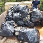 Ação de limpeza no Rio Iguaçu pelo Rotary Club de Palmeira e Iate Clube em comemoração ao Dia do Rio-foto divulgação (5)