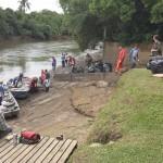 Ação de limpeza no Rio Iguaçu pelo Rotary Club de Palmeira e Iate Clube em comemoração ao Dia do Rio-foto divulgação (6)