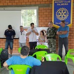 Ação de limpeza no Rio Iguaçu pelo Rotary Club de Palmeira e Iate Clube em comemoração ao Dia do Rio-foto divulgação (9)