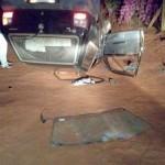 Carro capota em estrada rural de Palmeira e passageiro morre no acidente_1_foto rede social WhatsApp (2)