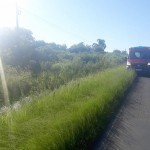 Veícula sai da pista na PR 151 próximo ao Rio Caniú_2