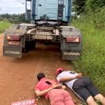 Caminhão que teria sido roubado em Palmeira é recuperado pela polícia_2_foto Polícia Civil