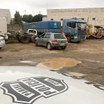 Caminhão que teria sido roubado em Palmeira é recuperado pela polícia_3_foto Polícia Civil