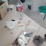Vandalos invadem Escola N S do Rocio e Amadeu Mário Margraf e consomem merenda dos alunos_3