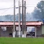 Casa e bar são destruídos por incêndio em Porto Amazonas-1