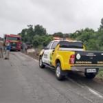 Motorista morre após tombar caminhão na PR 151__2