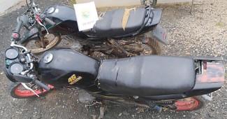 Motos furtadas em Palmeira são recuperadas pela Polícia Militar