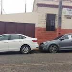 Veículos apreendidos durante ação policial da PM de Palmeira_foto PM