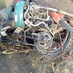 Acidente Moto x Caminhão na BR 277 km 182 em Palmeira_foto PRF_3