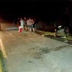 Acidente entre caminhão carregado de boi e Fiat Uno deixa motorista morto-3